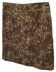 Liz Claiborne Skirt animal print