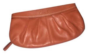 Coach Burnt Orange Clutch