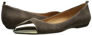 Nine West Taupe Suede Flats