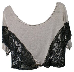 S&S Top grey, black