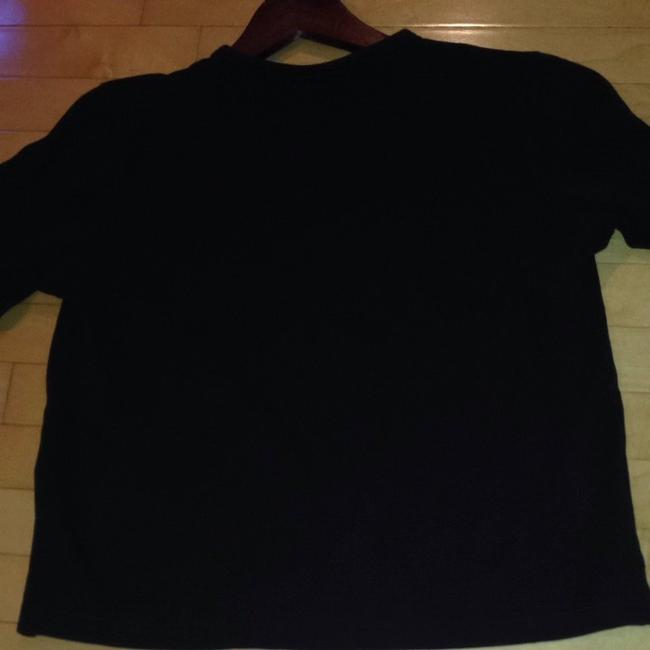 Christine Alexander Wines Constantly 3/4 Lengtyh Sleeves T Shirt Black