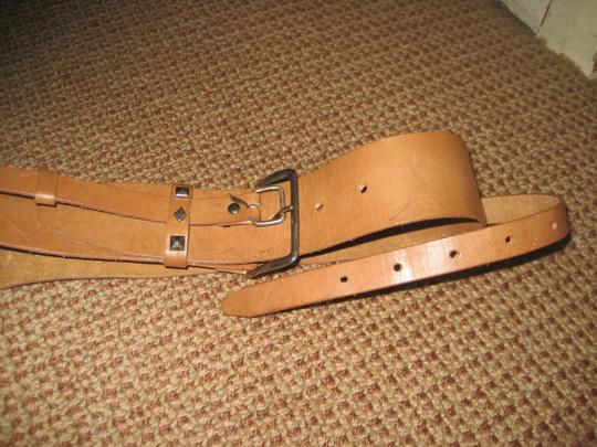 In-Wear Double Belted Brown Belt
