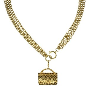 Chanel Chanel Vintage Gold Purse Necklace