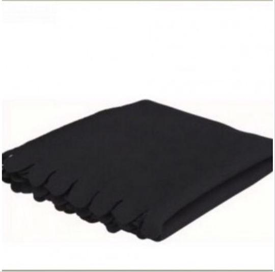 Other Black Fleece Blanket Throw