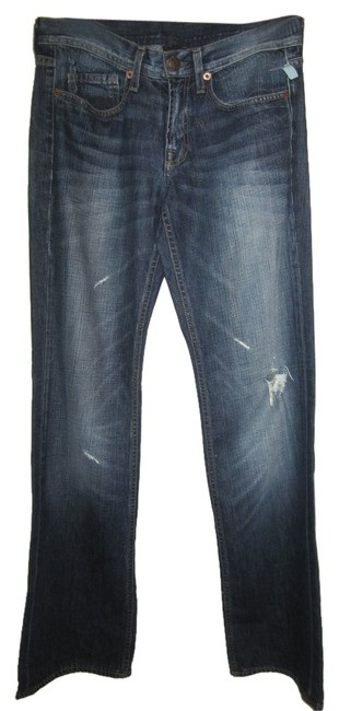 Genetic Denim Distressed Swagger Boot Cut Jeans
