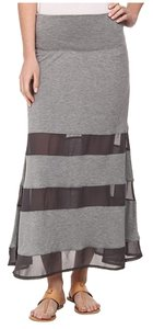 Dylan George Maxi Skirt Charcoal Grey