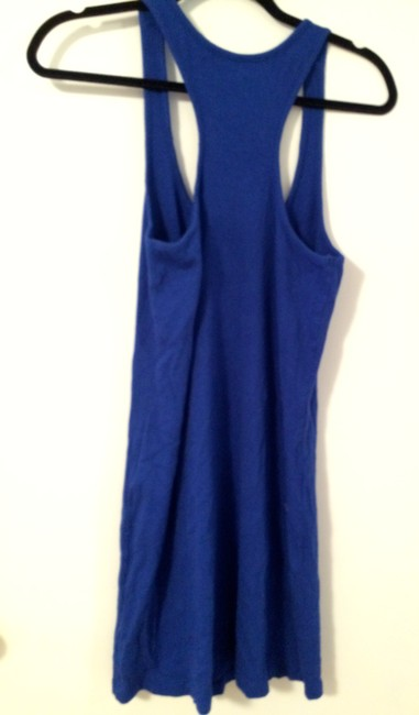 Express short dress Blue Swimsuit Swimwear Coverup Sundress Comfortable Colorful on Tradesy