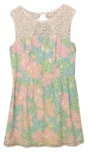 Lilly Pulitzer Print Lace Dress