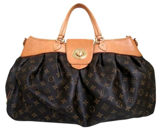 Louis Vuitton Boeshi Gm Handbag Satchel in Brown