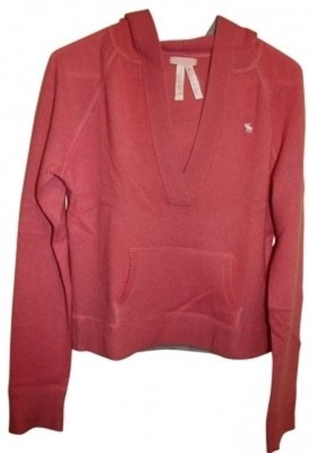 Preload https://item4.tradesy.com/images/abercrombie-and-fitch-peachpink-cashmere-w-hood-sweaterpullover-size-12-l-39668-0-0.jpg?width=400&height=650
