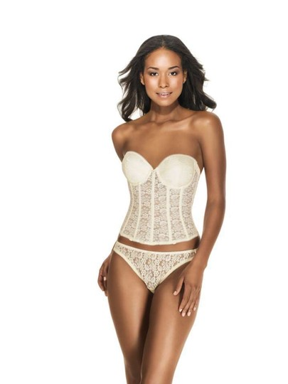 Dominique Ivory Lace Push-up Brasselette 7759