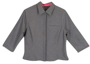 Xhilaration Button Down Shirt Gray