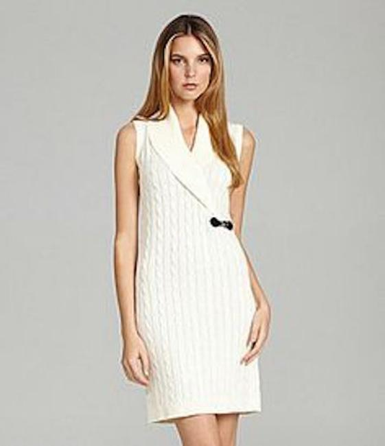 Calvin Klein Sweaterdress Comfortable Quilted Cord Cable Dress
