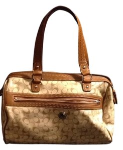 Coach Cute Cute Beige Causal Satchel Shoulder Bag