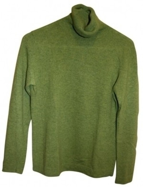 Preload https://item3.tradesy.com/images/lime-green-cashmere-sweaterpullover-size-8-m-39672-0-0.jpg?width=400&height=650