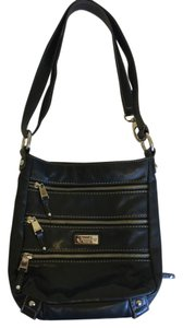 Tignanello Black Cross Body Adjustable Strap Leather Shoulder Bag