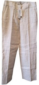 J.Crew Wide Leg Pants Natural