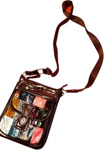 Charming Charlie Shiny Color Colorful Cross Body Bag