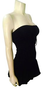 Splits59 short dress Black Mini Size X-small on Tradesy
