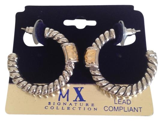 Preload https://item4.tradesy.com/images/silver-and-gold-coll-earrings-3967663-0-0.jpg?width=440&height=440