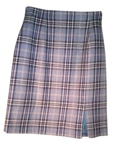 Port Cros Skirt grey plaid