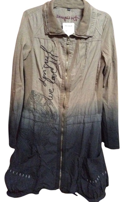 Preload https://item4.tradesy.com/images/desigual-ombre-khaki-eclectic-heavier-cotton-long-size-4-s-3967738-0-0.jpg?width=400&height=650