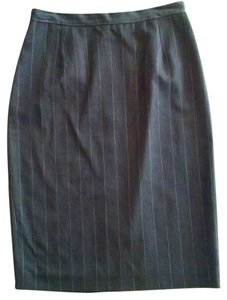 Michael Kors Pencil Skirt gray, pin striped