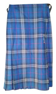 Edinburgh Woollen Mills Skirt blue plaid