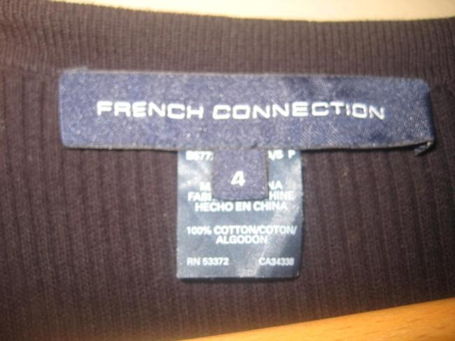 French Connection short dress Black Knit on Tradesy
