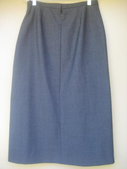 French Connection Classic A-line Skirt Charcoal Gray
