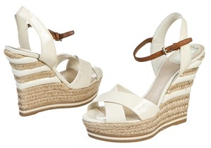 Dior Cream Wedges