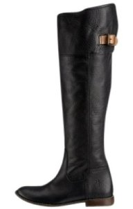 Frye Black with tan accent Boots