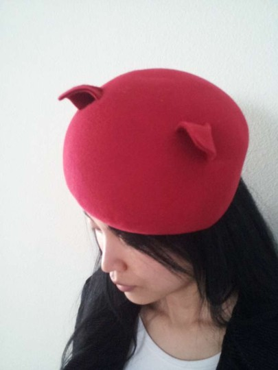 Other Cat Ear Felt Dome Hat