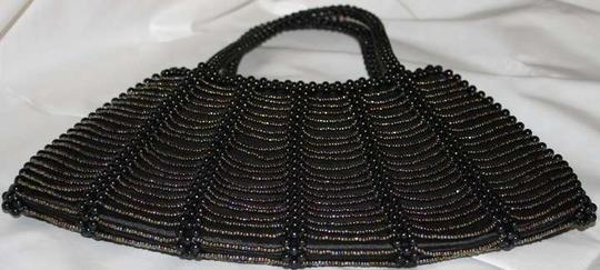 Vintage Beaded Evening Prom Night Out Date Night 80's Baguette