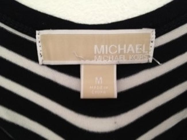 Michael Kors Top Black and white sequin