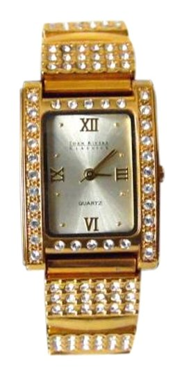 Preload https://item1.tradesy.com/images/joan-rivers-goldtone-classics-crystal-expansion-watch-3970030-0-2.jpg?width=440&height=440