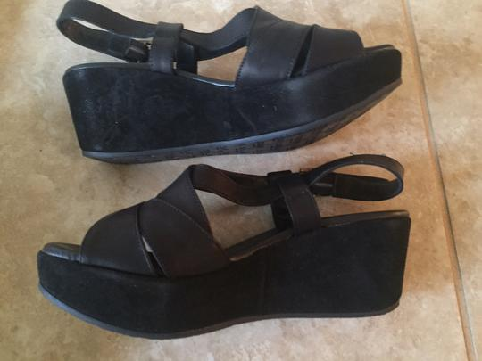 Cordani Black Wedges