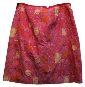 Lilly Pulitzer Skirt Lilly Pink, Yellow, Orange