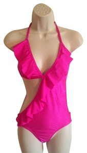 Johnny Vincent NWT Johnny Vincent Hot Pink St. Vincent One Piece