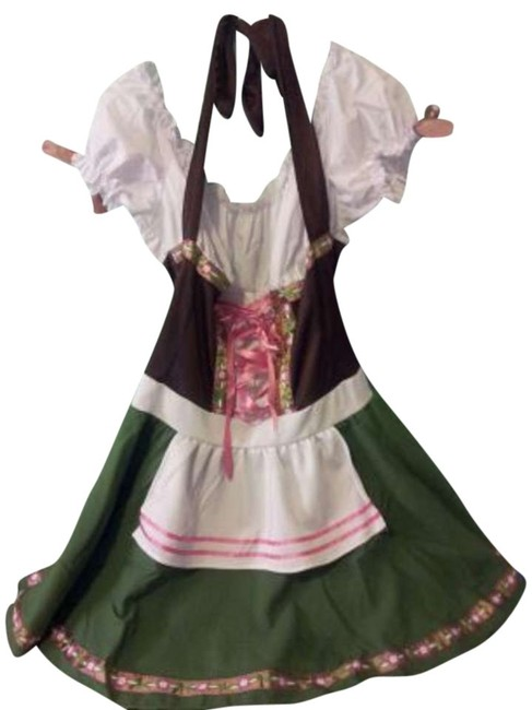 Item - Bar Maid Costume Above Knee Short Casual Dress Size 26 (Plus 3x)