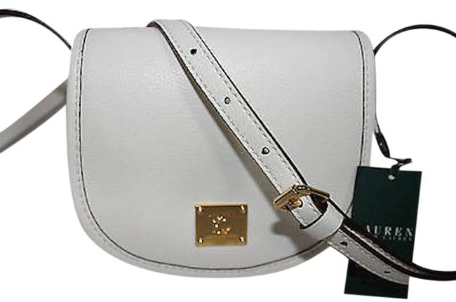 Item - Winchester In White Leather Cross Body Bag