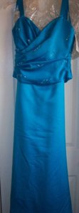 Alexia Designs Teal 400 Dress