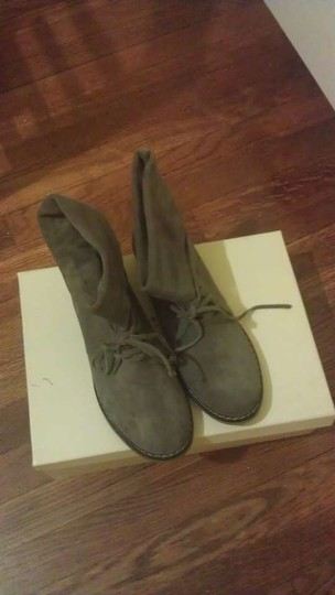 Mia Shoes Taupe Boots