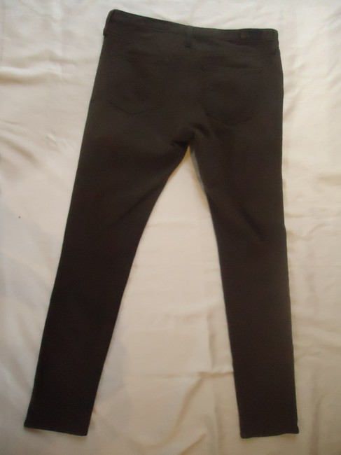 AG Adriano Goldschmied The Skinny Stretch Pants brown Leggings
