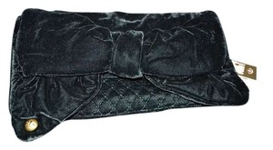Juicy Couture Black/teal Clutch