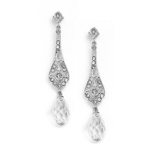 Preload https://item1.tradesy.com/images/mariell-silver-dainty-art-deco-cubic-zirconia-or-prom-with-crystal-dangles-4022e-earrings-3973285-0-0.jpg?width=440&height=440