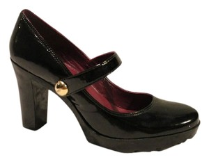 Coach Patent Leather Black Pumps