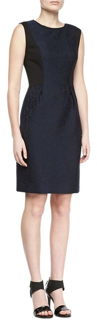Elie Tahari Lace Sheath Work Jacquard Dress