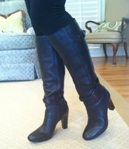 Cole Haan Made In Brazil Leather black Boots