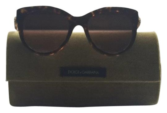 Dolce&Gabbana Gold Flowered And Tortoise